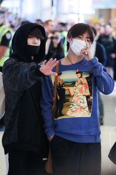 Jungkook and Taehyung bts