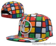 YUMS Snapback Hats Rubik's Cube Shape only US$8.90,please follow me to pick up couopons.