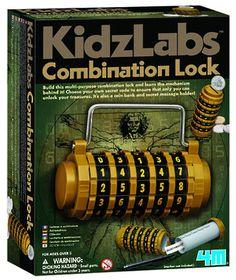4M Kidzlabs - Combination Lock
