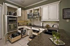 Roll out kitchen shelves from ShelfGenie of Hampton Roads, Richmond, VA. #kitchen #kitchendesign #kitchenremodel #virginiakitchen