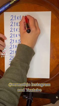 Math Resources, Math Activities, Math Worksheets, Life Hacks For School, School Study Tips, Cool Math Tricks, Maths Tricks, Math For Kids, Fun Math