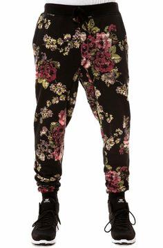 Elwood Men's Digi Floral Tapered Jogger Pants