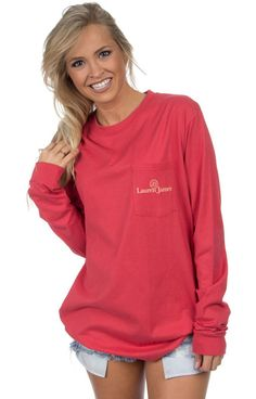 Burnt Red - Prep Step - Long Sleeve Front