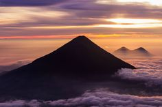 Acatenango Volcano in Guatemala. Wow