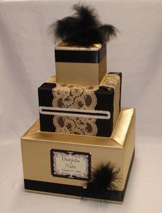 Colores de caja cualquier boda temática Gatsby
