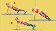 tracy anderson gut check plank sous sous to forward step Tracy Anderson Workout, Tracy Anderson Diet, Tracy Anderson Method, Great Ab Workouts, Killer Workouts, Lower Ab Workouts, Ab Core Workout, Abs Workout For Women, Workout Routines