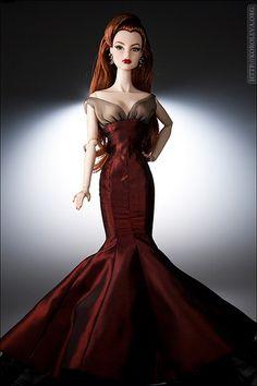 Rouge elegance Barbie