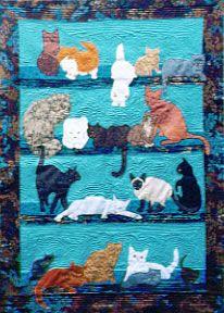 ❤ =^..^= ❤  Fabulous patterns!!!!! Too Many Cats 2 - PATTERN