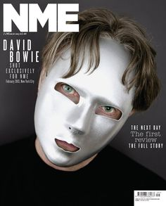 Feb 2013 Bowie cover for NME magazine. Dorian Gray, Next Day, The Next, David Bowie Covers, Nme Magazine, Magazine Covers, Jonathan Barnbrook, Newspaper Front Pages, The Thin White Duke