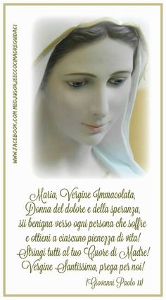 Giovanni Paolo II Blessed Mother Mary, Chris Young, Catholic Prayers, Madonna, Jesus Christ, Faith, Christian Art, Frases, Will And Testament