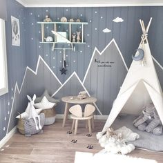 50 inspirierende Kinderzimmer-Design-Ideen Best Picture For baby room decor mountains For Your Taste You are looking for something, and it is going to tell you … Baby Room Boy, Baby Bedroom, Nursery Room, Girl Room, Girls Bedroom, Baby Boys, Baby Boy Bedroom Ideas, Teepee Nursery, Nursery Decor