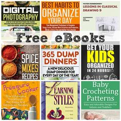 FREE EBOOKS: Learning Styles, Get Your Kids Organized in 24 Hours + More!