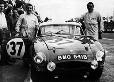 1964 Le Mans  MGB driven by Paddy Hopkirk / Andrew Hedges
