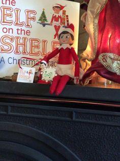 Suzy 015.  Elf on the shelf.