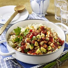 Zucchini-Reispfanne Rezept | LECKER