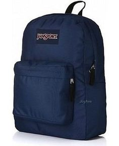 New JanSport Superbreak Classic Backpack School Bag - Navy