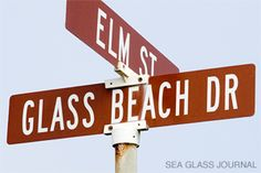 Sea Beach, Fort Bragg, CA - The Mecca for Sea Glass Collectors  By Gary de Blois Located in Northern California among the rocky coastline is what can be considered the Mecca for sea glass collectors around the world. A short walk to the beach off Elm Street in Fort Bragg, CA, is an area that once was the town dumping ground. Its otherworldly shoreline is now littered with smooth shards of sea glass.