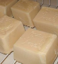 Homemade soap This is my favorite soap recipe. I add minerals to it and some scent. Super easy to do. Last time I used a crock-pot and it was easier yet.