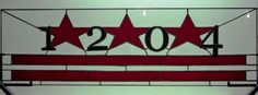 Stained Glass Transom  Washington DC Flag AM17 by terrazaglass, $295.00