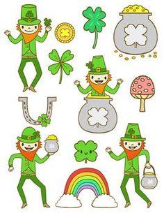 St. Patrick's Day Clip Art | ST. PATRICKS DAY CLIP ART - TeachersPayTeachers.com