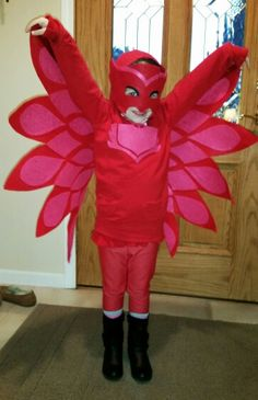 Owlette PJ Masks Pj Masks Costume, Witch Costumes, Diy Costumes, Costume Ideas, Baby Girl Halloween Outfit, Halloween Dress, Halloween Costumes, Halloween 2016, Holidays Halloween