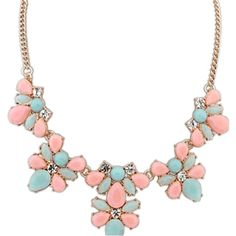 Tana Crystal Flower Necklace