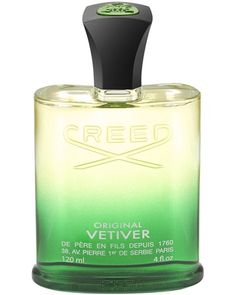 "Original Vetiver: Green, with a kiss of Mediterranean citrus and spice, Original Vetiver is a warm, sensual, original fragrance evoking the lingering sunshine and relaxed sophistication of summers in the South of France. A ""universal"" scent, Original Vetiver is equally alluring when worn by women or men. #Creedperfume http://www.creedboutique.com/creed-universal-perfumes/25-creed-original-vetiver.html"
