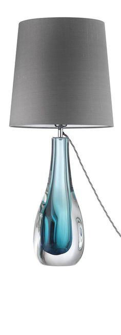 1000 Images About Blue Glass Lamps On Pinterest Glass Table Lamps Living Room Table Lamps