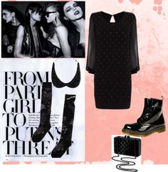 A fashion look from December 2012 featuring studded dress, Ed Hardy and laced up boots. Browse and shop related looks. Studded Dress, Lace Up Boots, Attraction, Fashion Looks, Polyvore, Shopping, Image, Dresses, Lace Up Ankle Boots
