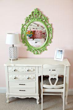 love this for little girls room.