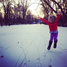 Goodbye Winter, Lessons from a Child on Falling in Love with Every Season | family+footprints
