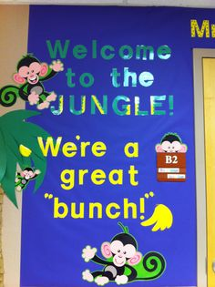 My jungle-themed classroom