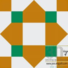 Piece N Quilt: How to: Quarterfoil Star Quilt Bock- 30 Days of Sewing Quilt Blocks- Star Version