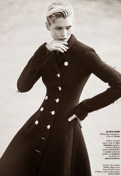 "Hana Jirickova "" Paris C'est Chic! "" by David Bellemere Vogue Thailand September 2014"