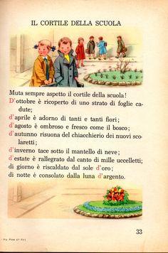 Italian Vocabulary, Italian Lessons, Cicely Mary Barker, Vintage School, Italian Language, Learning Italian, Vintage Children's Books, Short Stories, Childrens Books