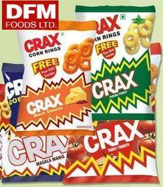 Snacks & Namkeen - Packaged food industry in India