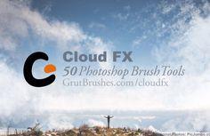 Cloud FX • 50 Photoshop Brush Tools by GrutBrushes on @creativework247