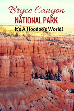 Guide and tips to visiting the hoodoos and Bryce Canyon National Park with kids - Utah with kids