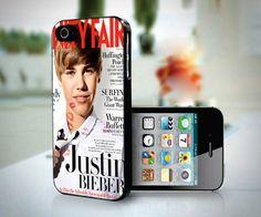 Justin Bieber Vanity Fair design for iPhone 5 case