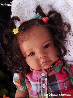 Baby Reborn Doll Biracial | So Real Reborn 22Baby doll AA Biracial Ethnic Shyann Aleina Peterson