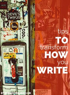 Actionable writing tips to help you improve how to write blog posts.Tips include using the hemingway app, the pomodoro technique and under-used WordPress functions. Read here: http://staceycorrin.co.uk/revolutionize-way-write-easy-peasy-tips/
