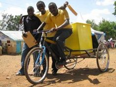 Worldbike is using customised bicycles to kick-start rubbish-hauling enterprises in Kenya's poorest neighborhoods. http://worldbike.org/ Check them out to see how you can get involved.
