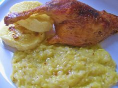 Risotto, Zucchini, Food And Drink, Meat, Chicken, Cooking, Ethnic Recipes, Kitchen, Brewing