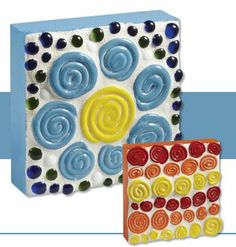 """One Fire Ceramic Spiral Mosaic"" art lesson plan by Mayco for grades This lesson introduces the construction of flat and simple clay coils. The coils are glazed, fired, and finally assembled into a collaborative mosaic mural. Elementary Art Lesson Plans, Mosaic Art, Mosaics, Art Education Projects, Math Crafts, Art Rubric, Art Worksheets, Math Art, Elements Of Art"