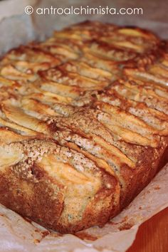 L'Antro dell'Alchimista: Torta di Mele e Cannella con Farina di Riso e Miele di Castagno - Apple Cake with Rice Flour; Cinnamon and Chestnut Honey