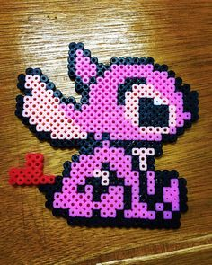 Lilo & Stitch perler beads by udiningg