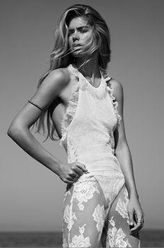 armband- Doutzen Kroes for Vogue UK January 2013