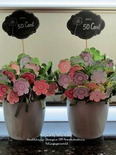 Frühlingshafte Blumensträuße mit Stampin' Up!