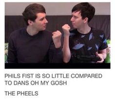 the original description was much more PG... but I just thought about how much bigger dan must be... i need jesus.<<yes, you do😂😂