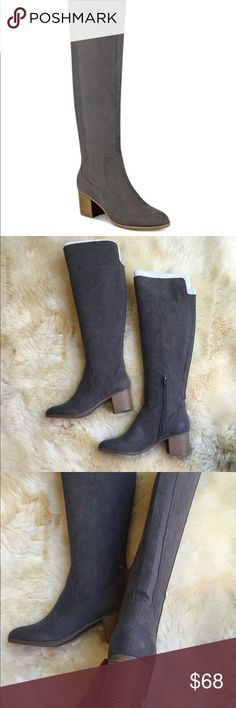 Indigo Rd. Over the Knee Gray Boots Brand new with box. Gray fabric. Size 9 M Indigo Rd Shoes Over the Knee Boots
